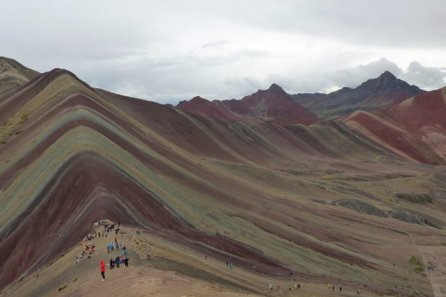 rainbow mountain-cusco